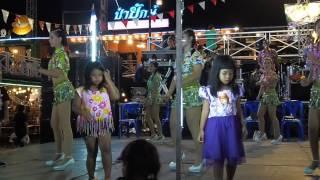 【Phetchaburi Dance】#รำวงเพชรบุรี★สวยจริงนะสาว❤♥ฟังข่าวทิดแก้ว❤♥สำรวยลืมคำ♥learn thai