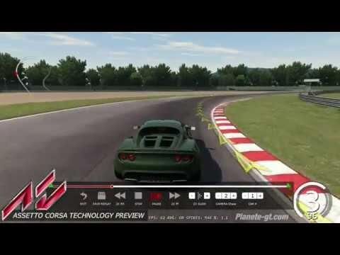 Assetto Corsa - Lotus Elise SC Replay