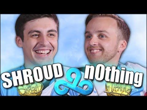 Shroud & n0thing Journey in CLOUD9 (CS:GO)