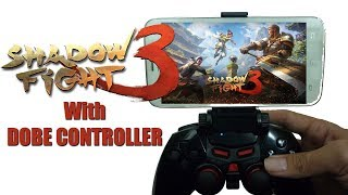 Shadow Fight 3 with DOBE Controller