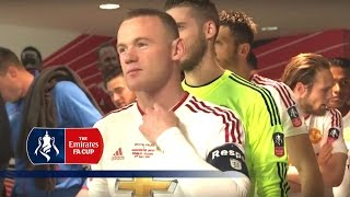 Tunnel Cam - Crystal Palace v Manchester United (2015/16 Emirates FA Cup Final) | Inside Access