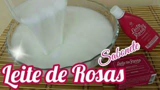 LEITE DE ROSAS versão SABONETE LÍQUIDO CASEIRO