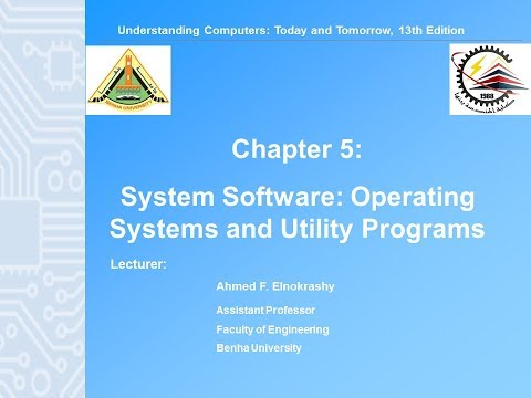 """05 """"System Software: Operating Systems and Utility Programs""""  P1/2"""