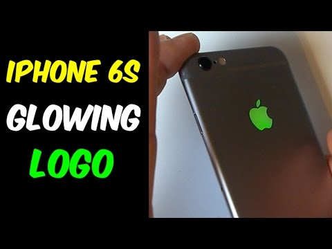 iPhone 6S Glowing Logo -DETAILED Tutorial-