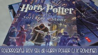 Fotorreseña: Box Set de Harry Potter (J. K. Rowling)
