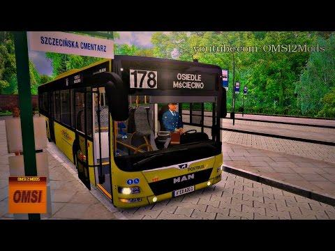 OMSI 2 - MAN Lion's City A20 / Fc. Szczecin Route 178