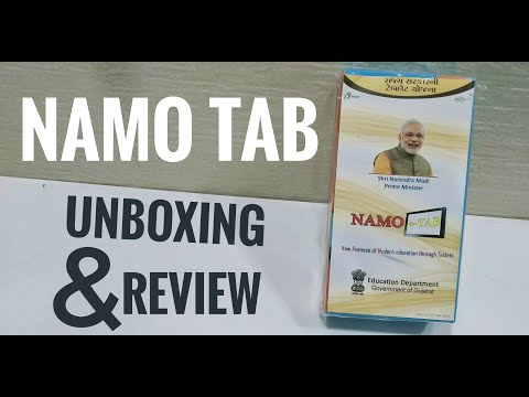 NAMO e-Tab (Lenovo TAB 7) Unboxing and Full Review