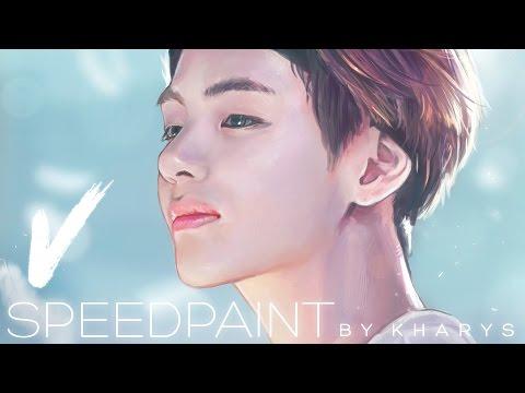 BTS V -「Process / Speedpaint」