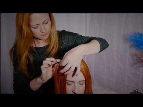 ASMR Style Hair Pulling Massage | Gentle, Soft Spoken, Hair Sounds