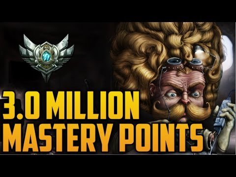 Silver HEIMERDINGER 3,000,000 MASTERY POINTS- Spectate Highest Mastery Points on Donger