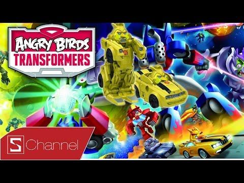 Schannel - Giới thiệu Games Angry Birds Transformers