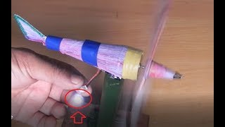 How to make a simple working  wind turbine tutorial for science projects.