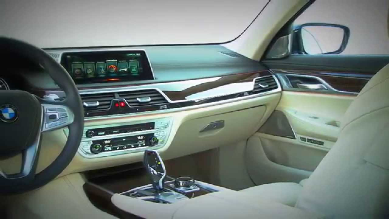 All new 2016 BMW 7 Series Interior  YouTube