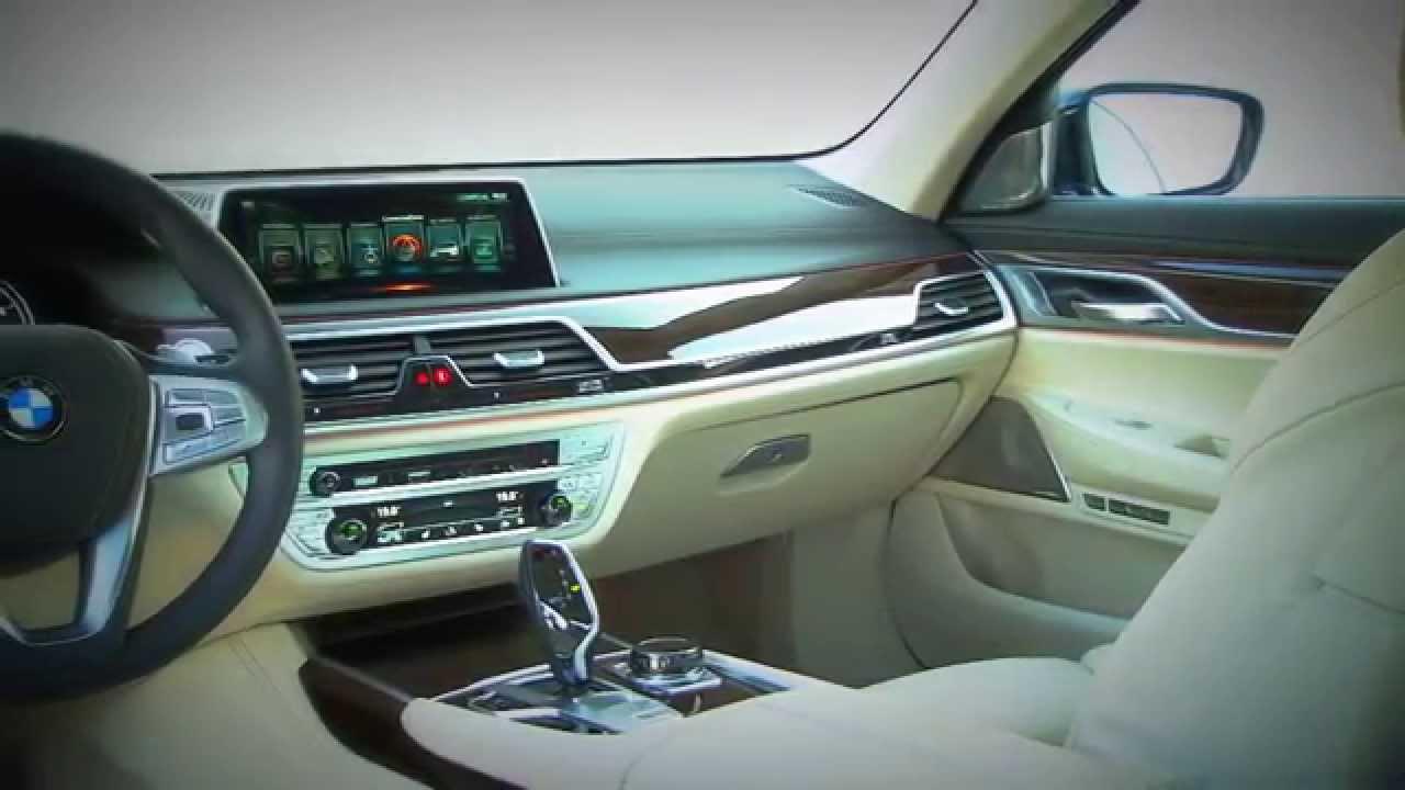 All New 2016 BMW 7 Series Interior