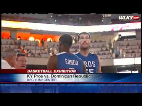 NBA Pros Face Off Against Dominican Republic