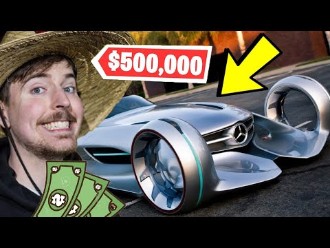 5 Items MrBeast Owns That Cost More Than Your Life... (CRAZY MANSION & $500,000 Dream Car)