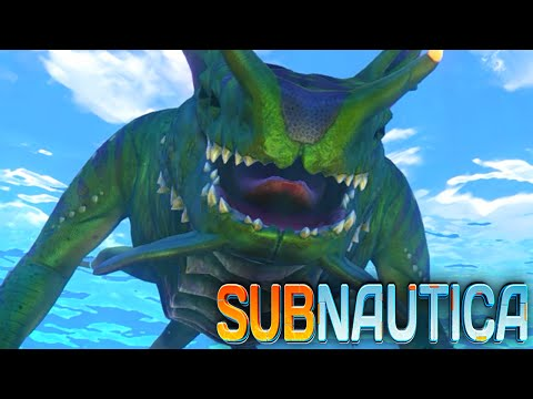 Subnautica - SEA DRAGON, LEVIATHAN, NEW CREATURES (Subnautica Early Access Gameplay)