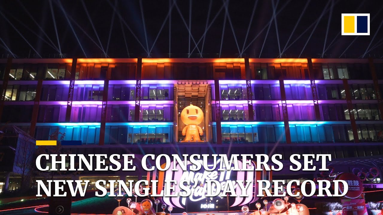 Chinese consumers set new Singles' Day record with sales of US$38.4 billion in 24 hours