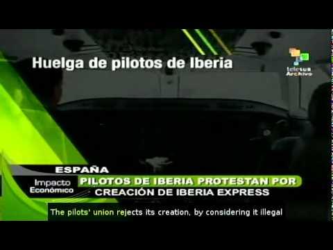 Iberia pilots plan strikes