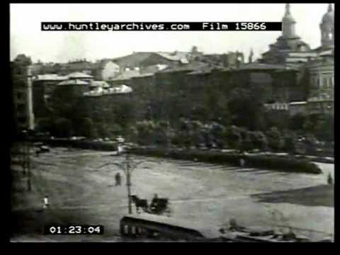 Moscow Russia 1920's film 15866.MPG
