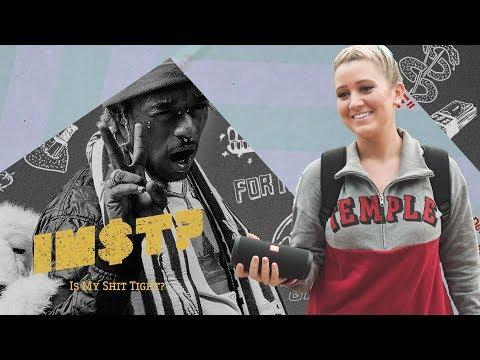 Lil Uzi Vert - LUV Is Rage 2: STREET REACTIONS in Philadelphia (Temple University)