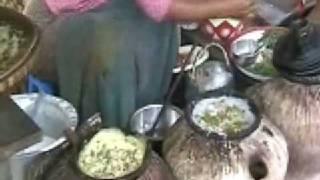 Burmese Pancake Stall