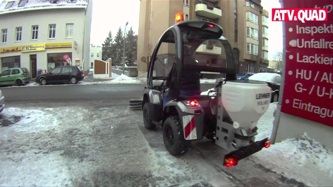 Lieblings Erich & Jahn: Winterdienst ATV für Berlin - YouTube @QB_41
