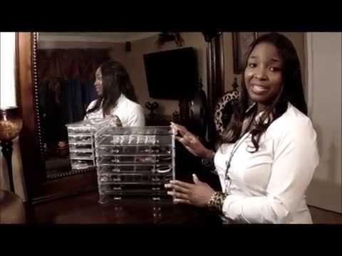 7-Drawer Acrylic Jewelry Box / Makeup Organizer