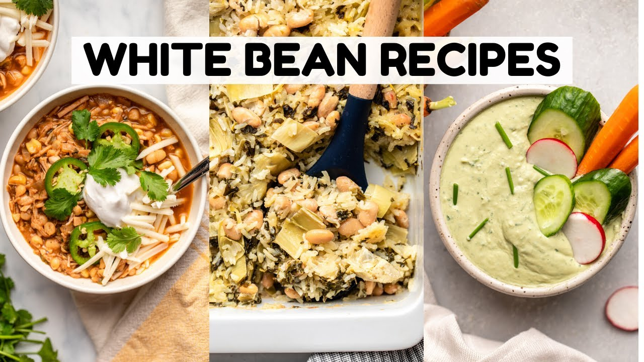 TASTY Recipes Using White Beans!