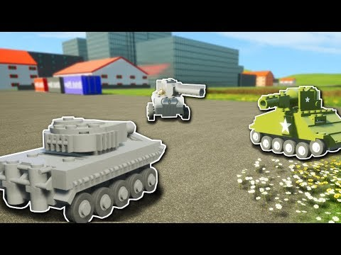 MINI CHALLENGE! - Brick Rigs Multiplayer Gameplay - Mini Tank Battle Challenge & more!
