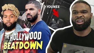 Drake and OBJ Involved In Crazy Younes Fight | The Hollywood Beatdown