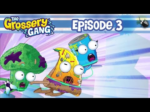 16 Grossery Gang In Chunky Crunch Cereal Box Set With B