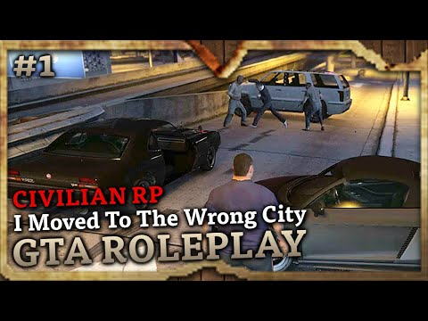 I Moved To The Wrong City [CIVILIAN RP] (GTA Role Play Highlights #1)