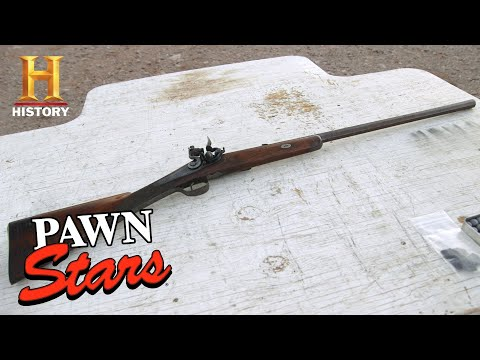 Pawn Stars: Extremely Expensive One-of-a-Kind Rifle (Season 16) | History
