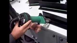 Новый ручной экструдер Dohle DX283 Micro(Ручной сварочный экструдер для экструзионной сварки листов, труб, фасонных изделий, пленок из пластмасс..., 2014-07-18T08:18:59.000Z)