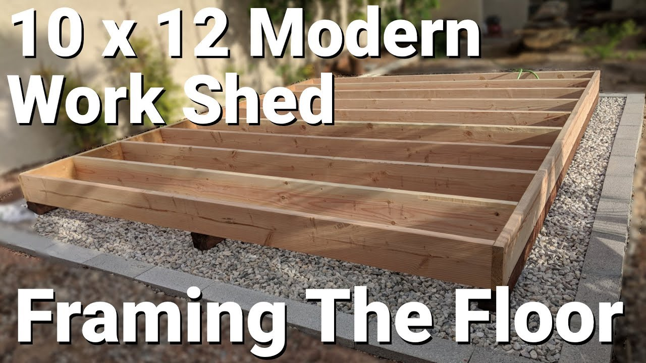 Building A Modern Shed Part 2
