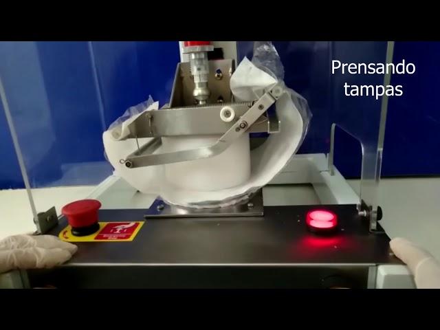 Modelo 2019 - Máquina Modeladora Semiautomática de Empadas Robopresser - Vimaster