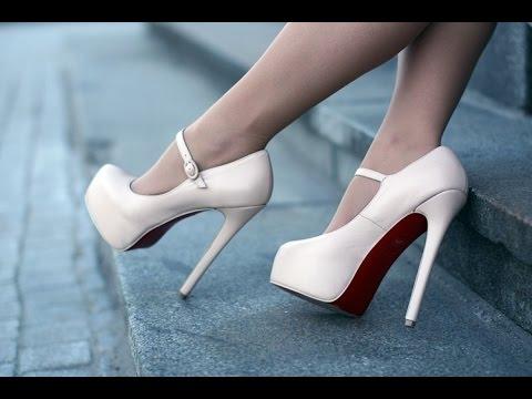 Женские Туфли на Высоком Каблуке - 2018 / Women's high-heeled .