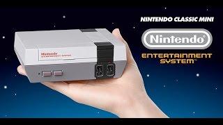 Nintendo lanza su clásica consola NES en formato mini Español 2016