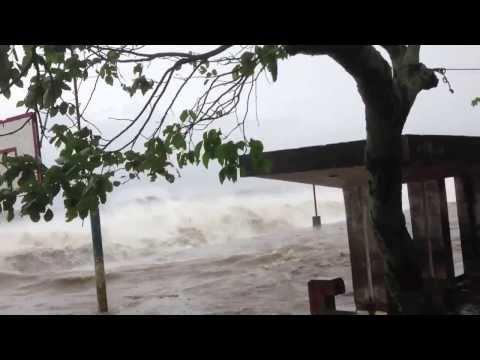 Storm Surge at Presentacion, Camarines Sur