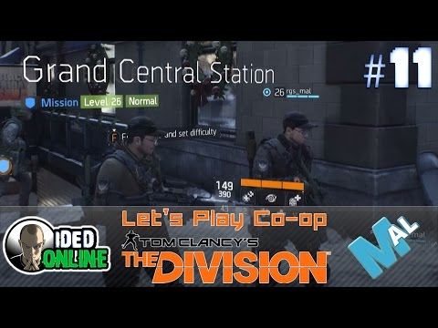 Tom Clancy's The Division - Grand Central Station - CO-OP Let's Play with Mal - EP11
