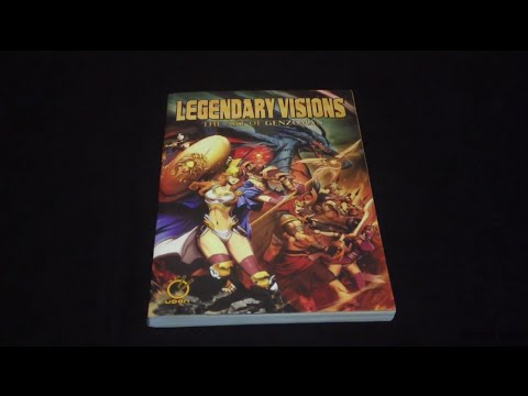Book Showcase: Legendary Visions - The Art of Genzoman