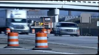 Car accidents in construction zones