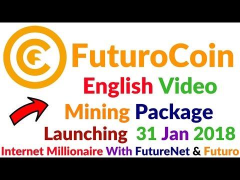FutureNet Company FuturoCoin Live Event FuturoCoin Mining Packages English Plan Full Details