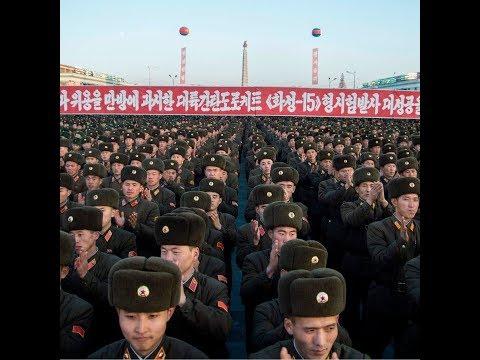 Après le tir de missile, grande fête à Pyongyang