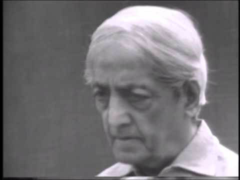 What is the right way to earn a living? | J. Krishnamurti