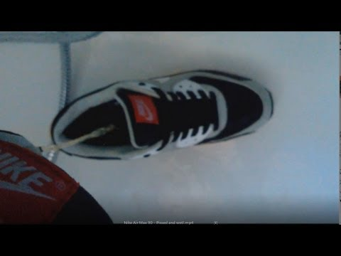 Nike Air Max 90 - Pissed and wet! - YouTube
