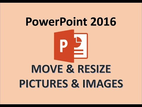PowerPoint 2016 - Resize Pictures - How To Increase And Decrease A Picture - Move Image Aspect Ratio
