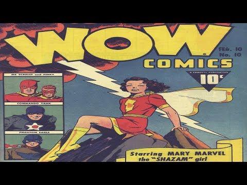 Mary Marvel - WOW Comics No 10 Comic Book Movie