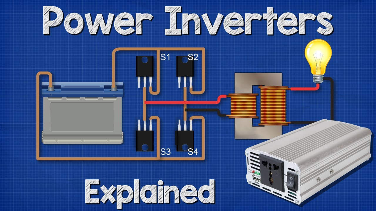 Power Inverters Explained How Do They Work Working